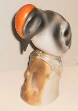 PORCELAIN WOODPECKER - 1930'S MADE IN GERMANY