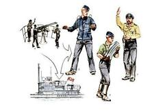 CMK 1:72  U-boat U-VII gun crew figures Atlantic version for Revell