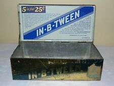Antique 1915 In-B-Tween Cigarritos Small 5 Cent Cigar Tin By Krause Co.