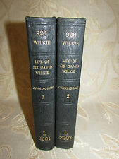 Lot Of 2 Antique Books The Life Of Sir David Wilkie, By Allan Cunningham - 1843