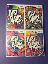 JUST DANCE *2014 & 2015 & 2016 & 2017* Package (Wii) NEW