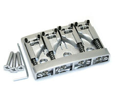 NEW Schaller High Mass 4 String Bass BRIDGE Adjustable Rollers Badass Chrome