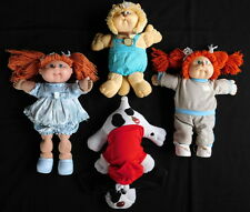 Vintage Cabbage Patch Kids Koosa Pound Puppy Plush Doll Lot Coleco Original 1980