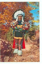 The Native American, Ceremonial Dress (unmailed(indiansA82