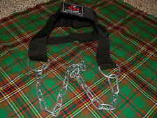 Weight Lifting Head Harness For Neck Strength Gym Training Exercise//