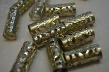 FLEMIING Sterling Silver Fillagree Cut Ferrules for Reins & Bridle or Headstall