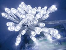 20 LED Fairy Christmas Haloween Wedding Lights 2m Cool White & Battery Operated
