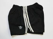 PANTALONCINO ADIDAS SHORTS BABY BLACK VINTAGE SPRINTER MADE IN WEST GERMANY T45