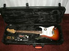 Used USA Fender American standard Stratocaster guitar with case  2015.
