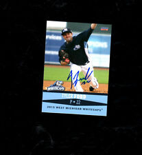 Tyler Ford 2015 West Michigan Whitecaps auto signed team set card Tigers