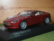 Minichamps 400 137340 Aston Martin DB9 2009 - Red Metallic 1/43rd Scale