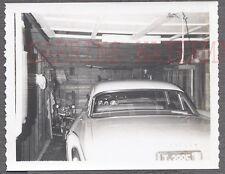 Vintage Car Polaroid Photo 1958 Chrysler Automobile in Garage 754882