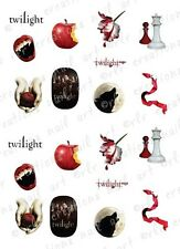 20 Twilight Water Slide Nail Decals 10 Asst. Designs Twilight Saga Nail Decals