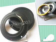 Adjustable EMF AF Confirm M42 Lens to Canon EOS EF Lens Adapter 600d 1200d 550d