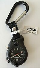 Zippo Carabiner Clip On Sports Watch With Compass, # 45023, New In Box
