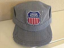 Engineer/Conductor Cap /Hat -UP Union Pacific - adjustable -Adult or Child -NEW