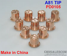 10 PCS A81 High Frequency Plasma Cutter Torch TIP PD0105 Made in China