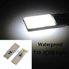 921194 2825 T10 XENON WHITE COB Waterproof LED Bulbs For License Plate Lights