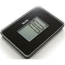 Tanita HD386 Super Small Compact Multi Purpose Digital Bathroom Scales - Black
