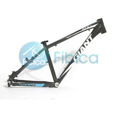 "New GIANT ATX PRO Alloy MTB Mountain Bike Frame BSA 26er 18"" Size M Black Blue"