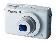 NEW Canon PowerShot N100 HS 12.1MP Digital Camera - Wi-Fi Enabled (White)