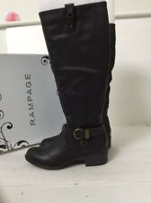 Rampage Intense Black 6M Boots Used