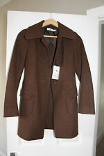 NWT +J Jil Sander for Uniqlo - Brown Wool Coat - Small