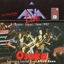 ASIA - LIVE IN OSAKA Japan 1992 Wt Steve Howe 2CDs (New/Sealed) Official Bootleg