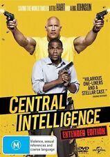 Central Intelligence (DVD, 2016) NEW