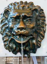 Outdoor Garden Tap Spout Water Feature Wall Pond Pool Fountain Leon Lion Head