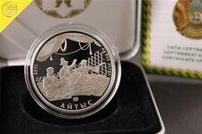 Kasachstan 500 Tenge Aytis Aytys 1 Unze oz Silber PP 2011