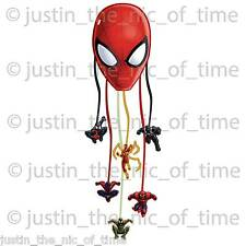 MARVEL ULTIMATE SPIDERMAN Boys Drum Pull Pinata Party Game