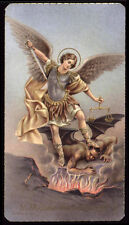 "santino-holy card""""ediz. FB n.172 S.MICHELE ARC."