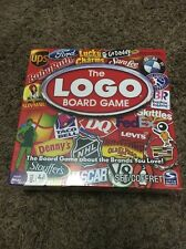 NEW The LOGO Board Game Spin Master Family Night Fun Questions Cards Fast SHIP