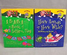 Math is Categorical Lot 2 Hardcover Books Pattern Play How Long Measuring Guide
