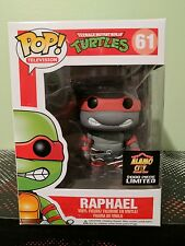 Funko Pop TMNT Turtles Exclusive Alamo City Raphael Grayscale Toy Matrix