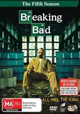Breaking Bad - Season 5 (DVD, 3 DvD Set) Region 4