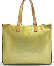 Louis Vuitton Vernis COLUMBUS Bag Schulter Tasche Tote TIMELESS Zeitlos Gold Rar
