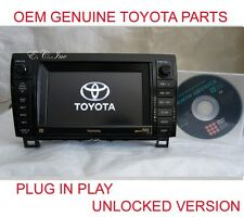 861200C220 E7013 GENUINE TOYOTA SEQUOIA TUNDRA JBL NAVIGATION DVD MP3 CHANGER