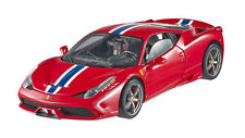 HOT WHEELS ELITE Ferrari 458 Speciale Red/Blue Stripe 1:18*Almost Sold Out!