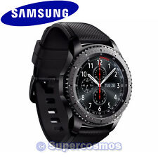 [**IN STOCK*] Samsung Galaxy Gear S3 Frontier Black SmartWatch Bluetooth Version
