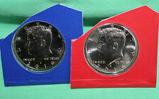 2016 P and D Kennedy Half Dollar Coin from US Mint Set 2 BU Cello Fifty Cent UNC