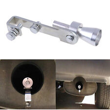 Silver Car Turbo Sound Whistle Muffler Exhaust Pipe Blow-off Valve Simulator #4