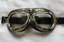 Biggles WWII Style Flying GOGGLES WW2 style Bomber Aviator Goggles Steam Punk