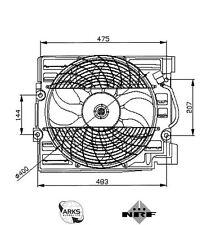 NFR RADIATORE VENTOLA - 47029