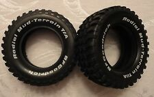 NEW! TAMIYA F150 1995 version Off Road BF Goodrich Tire, 1 Pair, (2 tires)