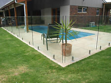 "GLASS POOL FENCING PANELS 1750mm x 1200mmx 12mm BRAND NEW""SALE"""