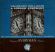 CLASSICAL LP VAUGHAN WILLIAMS A LONDON SYMPHONY SIR JOHN BARBIROLLI