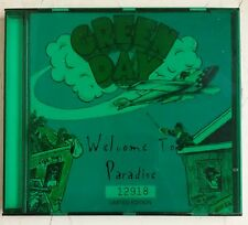 Green Day Welcome To Paradise Cd-Single UK ed. numerada en caja plastico verde