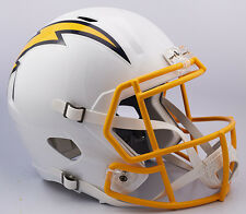 San Diego Chargers NEW 2016 Color Rush FULL SIZE SPEED REPLICA HELMET IN-STOCK